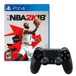 Dualshock 4 Wireless Controller With NBA2K18 Game
