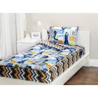 Zip It Bedding Reversible Twin Bedding Set
