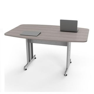 Rectangular Conference Table Ash / Silver
