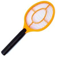 3 Layer Electric Cordless Portable Fly Bug Zapper Racket