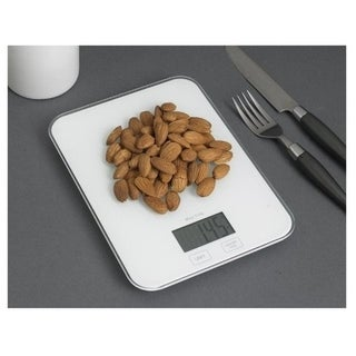White Digital Kitchen Weight Scale - Digital Weighing Food Scale