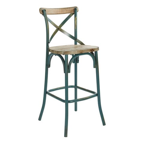 """Somerset 30"""" Bar Stool With Back"""