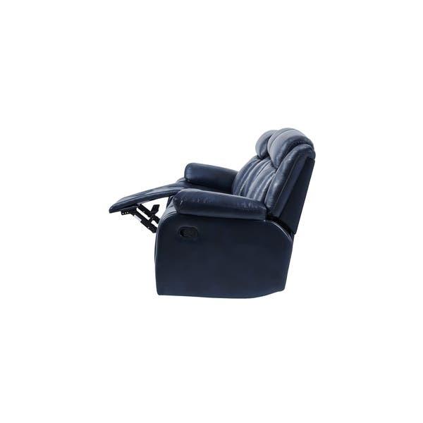 Awesome Shop Global Furniture Navy Blue Reclining Sofa Free Ibusinesslaw Wood Chair Design Ideas Ibusinesslaworg