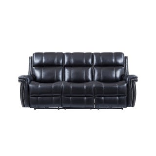 Global Furniture Power Reclining Sofa w/ Pwr Headrest