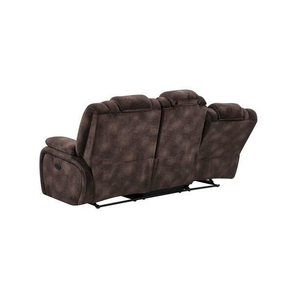 Pleasing Shop Global Furniture Power Reclining Adjustable Headrest Creativecarmelina Interior Chair Design Creativecarmelinacom