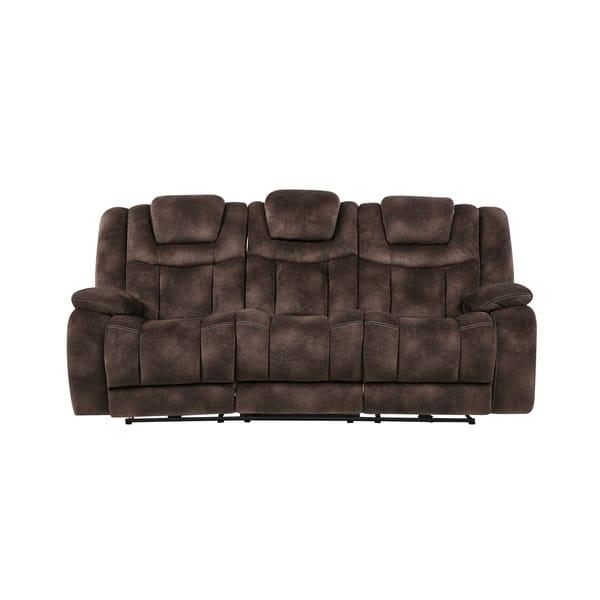 Surprising Shop Global Furniture Power Reclining Adjustable Headrest Creativecarmelina Interior Chair Design Creativecarmelinacom