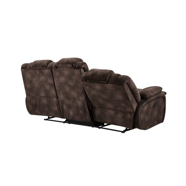 Outstanding Shop Global Furniture Power Reclining Adjustable Headrest Creativecarmelina Interior Chair Design Creativecarmelinacom