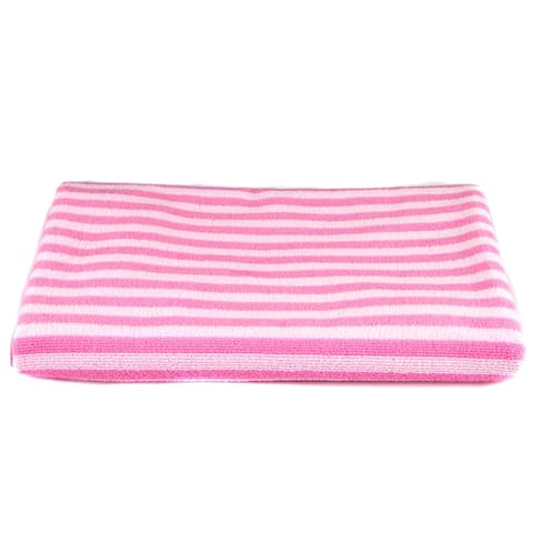 "Leisureland Stripe Microfiber Bath Towel 27"" X 54"""