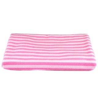 "Leisureland Stripe Microfiber Bath Towel 27"" X 54"""