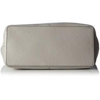 MICHAEL Michael Kors Bedford Pocket Tote Pearl Grey