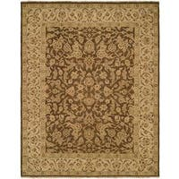 """Allegro Hazel Ivory Hand-knotted Wool Area Rug (2'6 x 12') - 2'6"""" x 12'"""