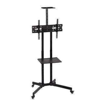 TV Cart Stand Plasma LCD LED Flat Screen Panel Wheels Mobile 32-65""