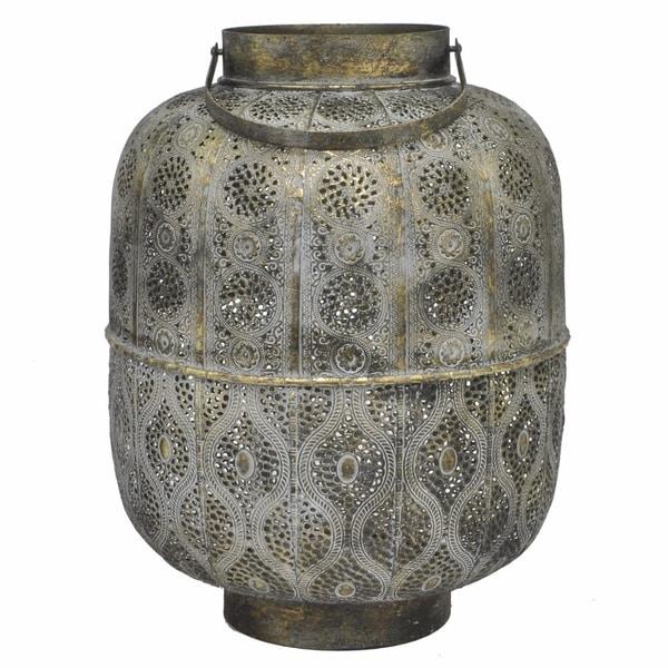 Metal Lantern - Benzara