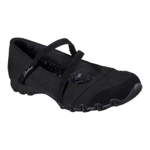 Women's Skechers Relaxed Fit Bikers Get-Up Mary Jane Black