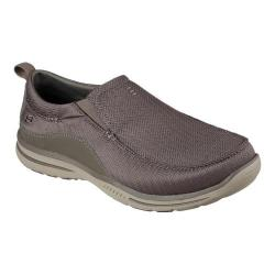 Men's Skechers Relaxed Fit Elected Viking Loafer Light Brown