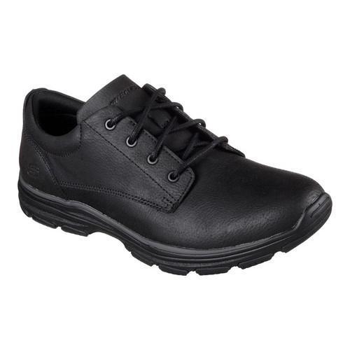 Men's Skechers Skech-Air Garton Modesto Oxford Black