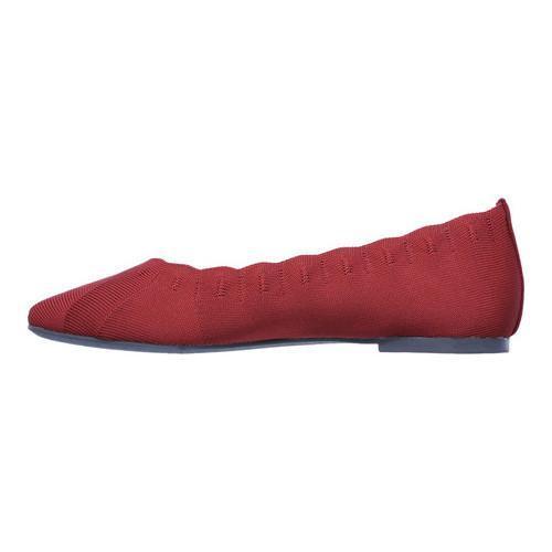 skechers ballet flats red