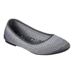 Women's Skechers Cleo Hot Dot Ballet Flat Charcoal