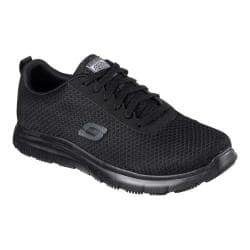 Men's Skechers Work Relaxed Fit Flex Advantage Bendon SR Sneaker Black|https://ak1.ostkcdn.com/images/products/188/209/P22737725.jpg?impolicy=medium