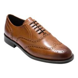 Men's Cole Haan Dustin Wing Tip Oxford British Tan Leather