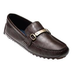 Men's Cole Haan Provincetown Driver Brown Pebble Leather