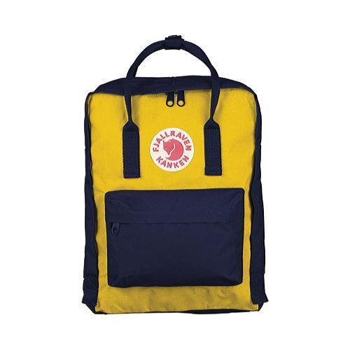 Fjallraven Kanken Backpack Navy/Warm Yellow
