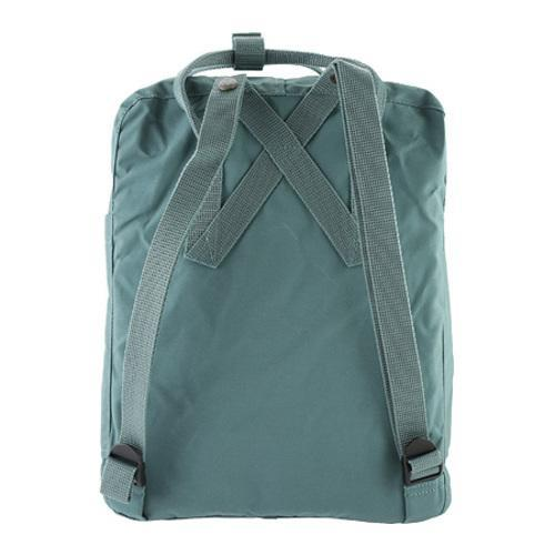 Fjallraven Kanken Backpack Leaf Green/Burnt Orange - Thumbnail 1