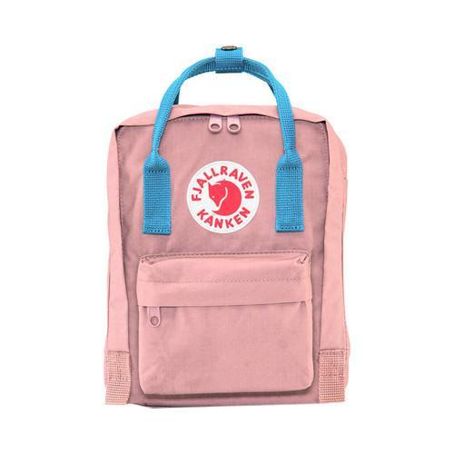Fjallraven Kanken Mini Pink/Air Blue