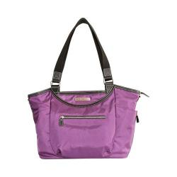 Women's Clark & Mayfield Bellevue Laptop Handbag 18.4in Purple