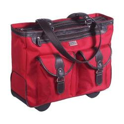 Women's Clark & Mayfield Marquam Rolling Laptop Tote 18.4in Red
