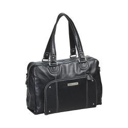 Women's Clark & Mayfield Morrison Leather Laptop Handbag 18.4in Black