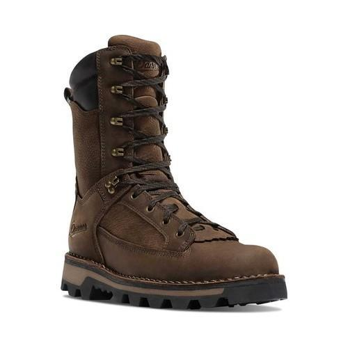 Men's Danner Powderhorn 10in 400G Mid Calf Boot Brown Full Grain Leather