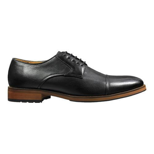 Men's Florsheim Blaze Cap Toe Derby Black Leather