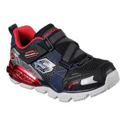 Boys' Skechers Hot Lights Orbitors Sneaker Navy/Red
