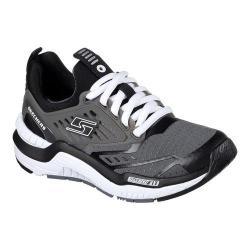 Boys' Skechers Hyperjolt Sneaker Charcoal/Black