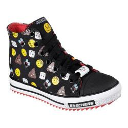 Boys' Skechers Jagged Number 2 High Top Black/Red