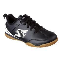Boys' Skechers Offside Soccer Shoe Black/White