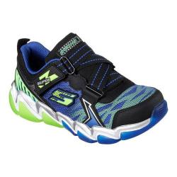 Boys' Skechers Skech-Air 3.0 Downswitch Sneaker Black/Blue/Lime