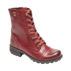 Women's Rockport Cobb Hill Bethany Boot Wine Leather