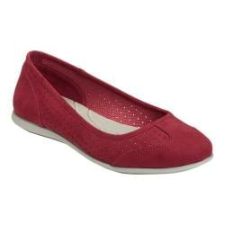 Women's A2 by Aerosoles Papaya Skimmer Red Faux Suede
