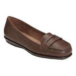 Women's A2 by Aerosoles Sandbar Penny Loafer Brown Faux Leather