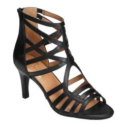 Women's Aerosoles Acclamation Cage Sandal Black Leather (More options available)
