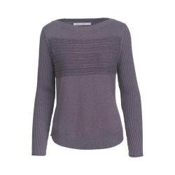 Women's Woolrich Apres Ski Eco-Rich Crew Sweater Purple Plumeria Marl