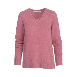Women's Woolrich Maple Way Crew Sweater Mesa Rose Heather