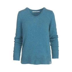 Women's Woolrich Maple Way Crew Sweater Ocean Blue Heather (3 options available)