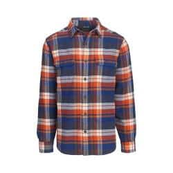 Men's Woolrich Oxbow Bend Flannel Shirt New Royal Blue|https://ak1.ostkcdn.com/images/products/188/472/P22766372.jpg?impolicy=medium