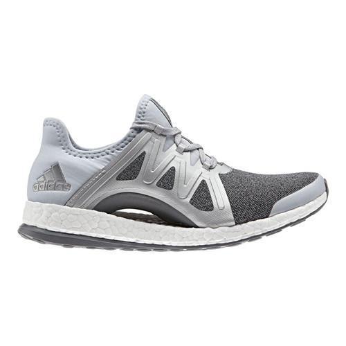 18fa7972baa03 Shop Women s adidas Pureboost Xpose Running Shoe Clear Grey Silver  Metallic Mid Grey - Free Shipping Today - Overstock - 16459158
