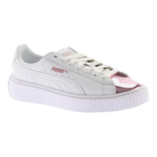 puma basket platform diamond