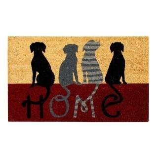 Dog Home Coir Door Mat