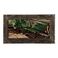 Bench Painting Coir Mat